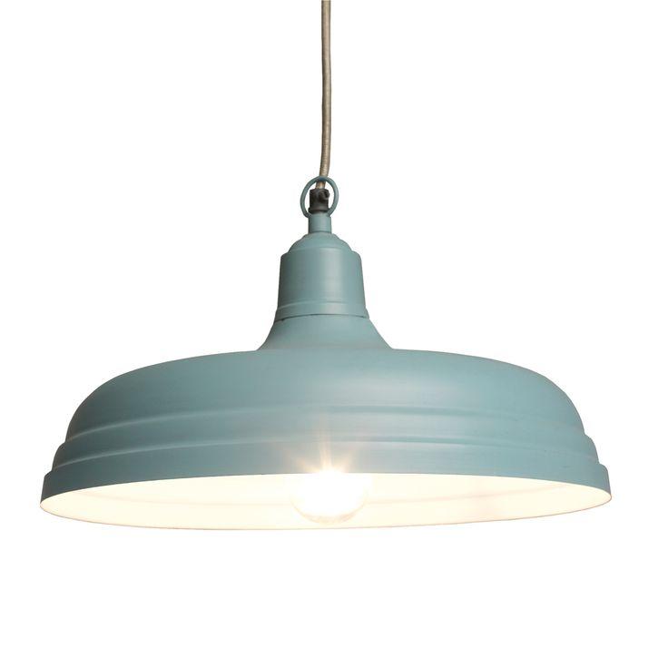 Large Utility Light Cameo Blue | DotComGiftShop