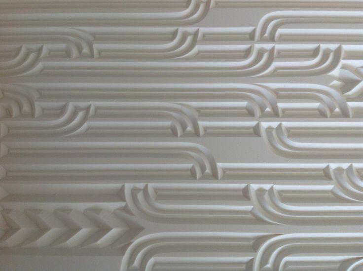 Carved Corian door detail CarveX