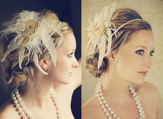 Bella Hair Fascinator by Curly Gurly couture by ikandiphotography, $85.00: Head Bands, Bella Hair, Hair Style, Hair Shtuff, Hair Fascinators, Pearls Headbands, Gorgeous Hairpiece