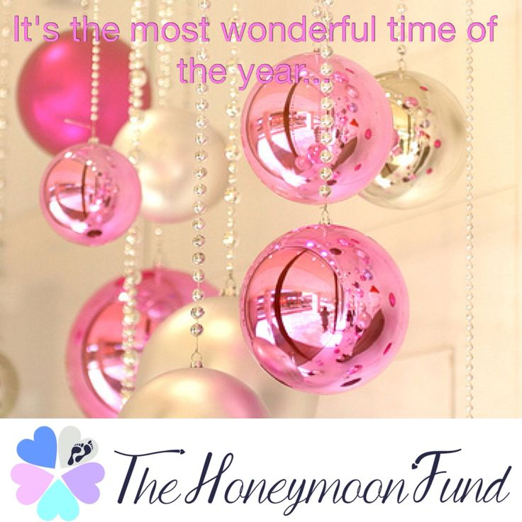 It's the most wonderful time of the year #christmas #thehoneymoonfund #honeymoon