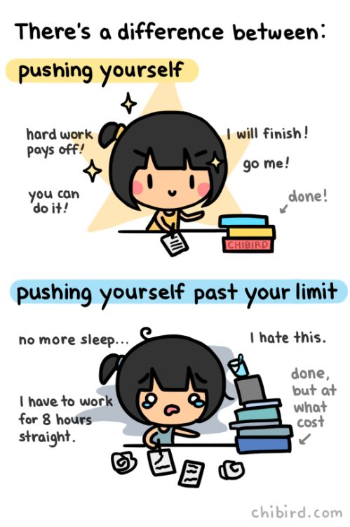 chibird: Good luck on the finals grind everyone! Sometimes you...