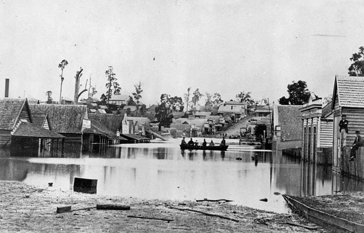File:StateLibQld 1 73647 Flooded Street in Gympie, ca. 1873.jpg