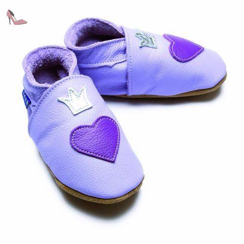 Inch Blue - 1545 XL - Chaussures Bébé Souples - Little Princess - Lilas - T 22-23 cm - Chaussures inch blue (*Partner-Link)