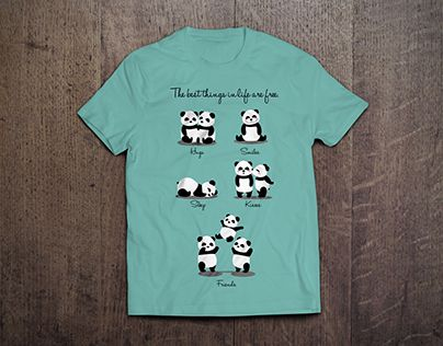 "Check out new work on my @Behance portfolio: ""Panda t-shirt design"" http://be.net/gallery/45486873/Panda-t-shirt-design"