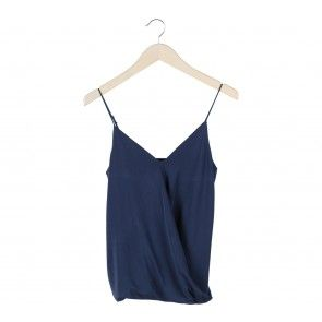 Dark Blue Sleeveless