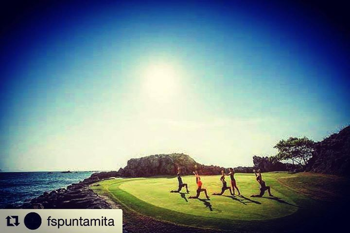 #Repost @fspuntamita with @repostapp  Free your mind and body with views overlooking the Pacific Ocean. We're thrilled to be named one of @SpaFinder's most beautiful yoga spots! . . . #WellnessWednesday #FSPuntaMita #Pmrfb #BeautifulYogaSpots