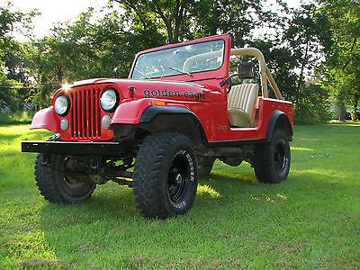1979 Jeep CJ7 Golden Eagle.
