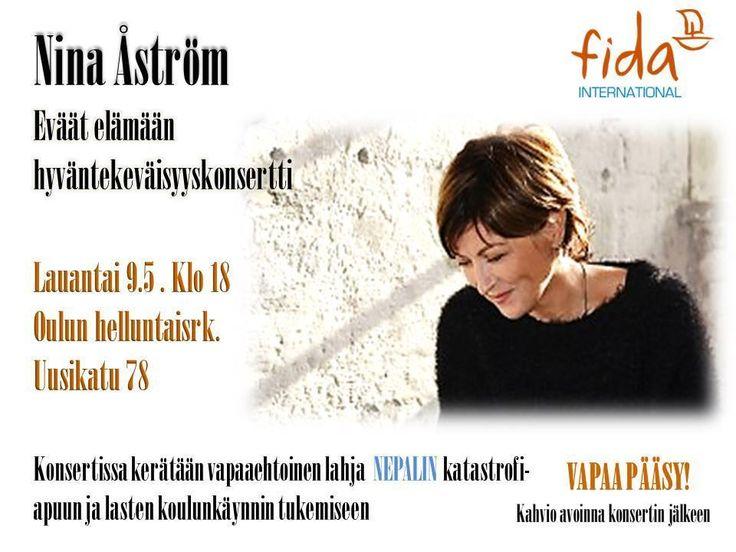 #Fida #Eväät #Elämään #keräys vauhdilla käyntiin #Oulu'ssa!