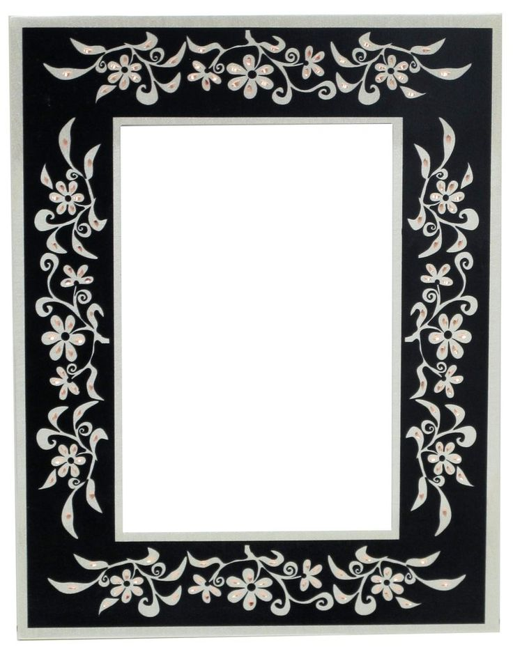 Floral Design Photo Frame