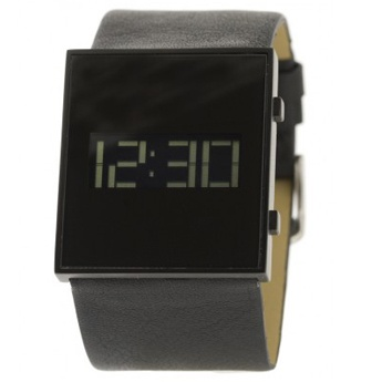 Relojes Digitales: Watchcelona Avenue negro y correa piel antialérgico negra.  http://www.tutunca.es/watchcelona