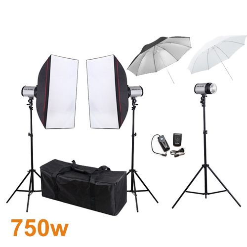 406.79$  Watch here - http://aitlt.worlditems.win/all/product.php?id=32396851373 - 750ws 110v Photo Studio Mini Strobe Monolight Lighting Kit studio flash lighting kits PSK250E1  fast shipping