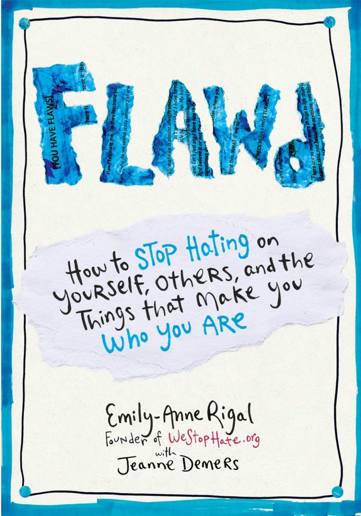 "This popped up on Oprah's book club and I thought why not check it out. ""Flawed"" should be handed to your young daughters right now.  I wish I could have read this when I was a teenager.  Lots of girl power!  What our teenage girls need most in my opinion."