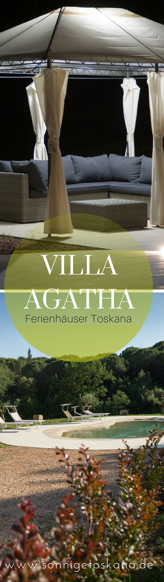 Villa Agatha - Ferienhaus in der Toskana - Italien, Toskana, 6 Schlafzimmer, Klima, Jacuzzi, Privater Pool, Küstennähe #reisen #toskana #toskanavillas #villaagatha #sonnigetoskana