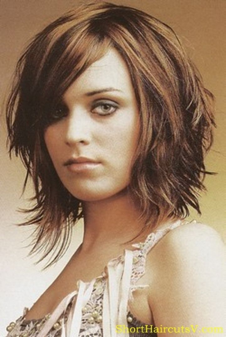 Medium Hairstyles for Round Faces | ... Medium Length Hairstyles 2014 only in hrcut.com - Hairstyles and