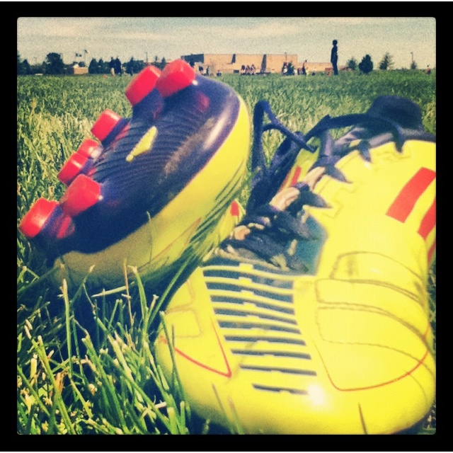 Love my soccer cleats