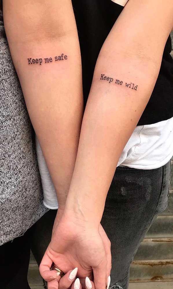 Tatuagem de irmãs: qual o significado, desenhos e fotos inspiradoras | Tatuagem, Tatuagem de irmãs, Tatuagem de irmãs delicadas