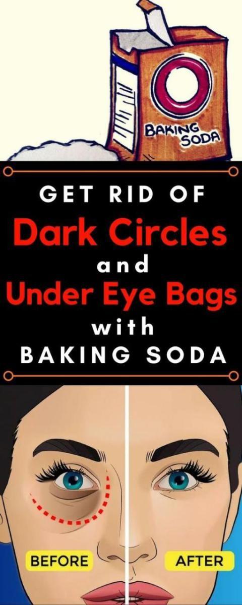 Remove Dark Circles And Under Eye Bags With Baking Soda and Lemon