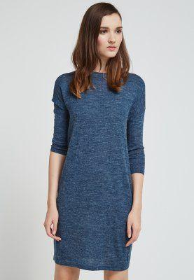 Vero Moda - CLEMENTINE - Strikkjoler - blå
