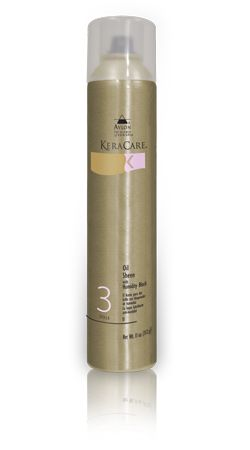keracare oil sheen with humidity block gives hair a natural looking shine and helps resist reversion - Coloration Revlon