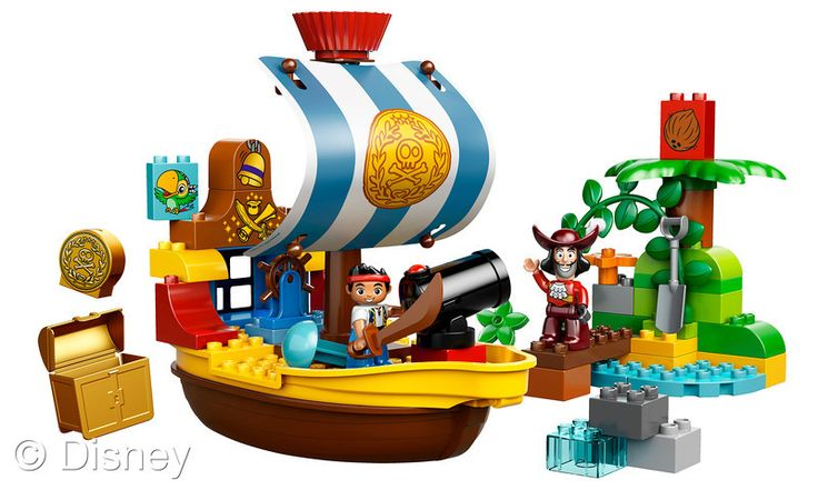 Disney 2013 Top Toys Article ~ Jake and the Neverland Pirates LEGO-Have to get this for Grant