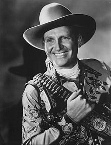 Orvon Grover Autry (September 29, 1907 – October 2, 1998), better known as Gene Autry, was an American performer who gained fame as a singing cowboy on the radio, in movies, and on television for more than three decades beginning in the early 1930s. Autry was also owner of a television station, several radio stations in Southern California, and the Los Angeles/California/Anaheim Angels Major League Baseball team from 1961 to 1997.