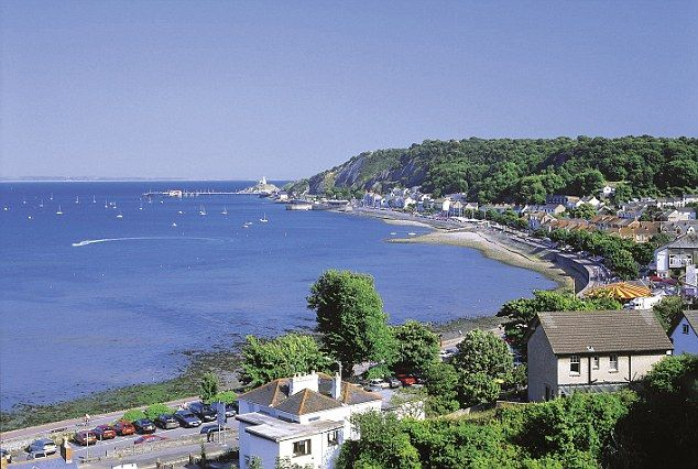 The seaside village of Mumbles