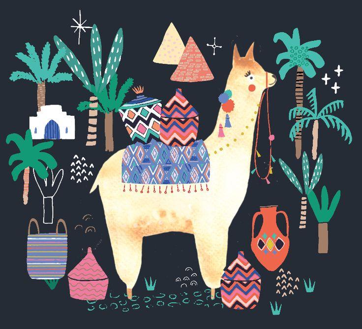 bettyjoydesignstudioNo drama with this little llama!! Messing about with some old bits, this llama needs a few cactuses etc but I until I draw some, he'll have to make do with palm trees!  #watercolour #llama #llamadrama #bettyjoy #bettyjoydesignstudio #palmtrees #southamerica #llamasofinstagram #design #pront #freelance #freelanceillustrator #vector #nurseryart #nurseryartwork #artforkids #kidsbedroom #childrensroom #customart #customdesign #holidays #cuteanimals #cuteportrait