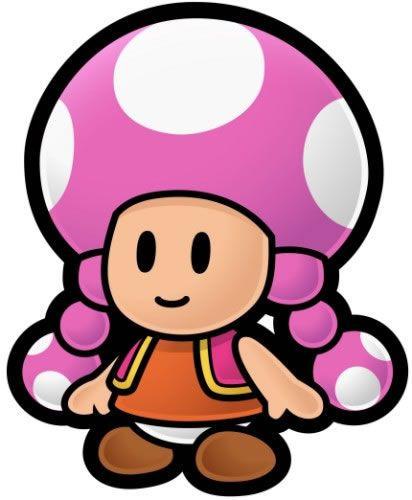 Toadette - Paper Mario: The Thousand Year Door