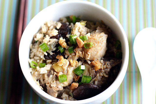 Claypot Chicken Rice Recipe (without Claypot): I love claypot chicken ...