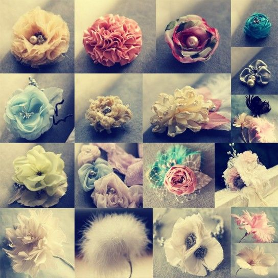 Fiori di stoffa fai da teHairbows, Fabric Flowers, Flower Tutorials, Fabrics Flower, Handmade Flower, Hair Bows, Feathers, Fabric Flower Tutorial, Flower Pattern