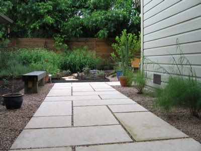 I'm jumping on the Design Workshop train, initiated by Gardens Gone Wild  and first read about on Digging . We installed a walkway this past...