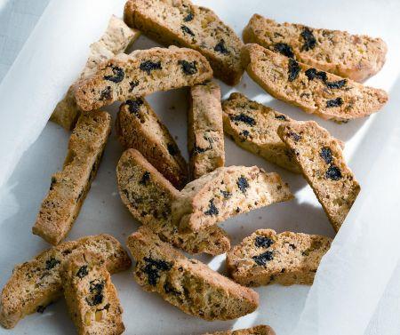 Aszalt meggyes biscotti | Stahl Judit