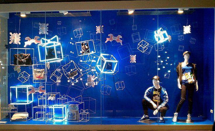 Adidas, Christmas Box, pinned by Ton van der Veer