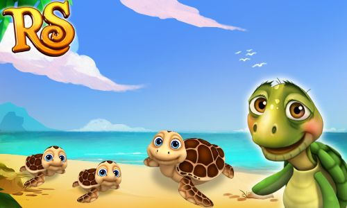 Do you know that Sea Turtles are protected animals? Adopt some and take care of them! #royalstorygame #royalzoo
