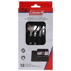 Coleman 12pc Stainless Steel Cutlery Set