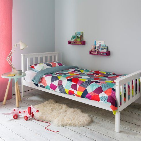 Noa and Nani Single Bed Dorset in White