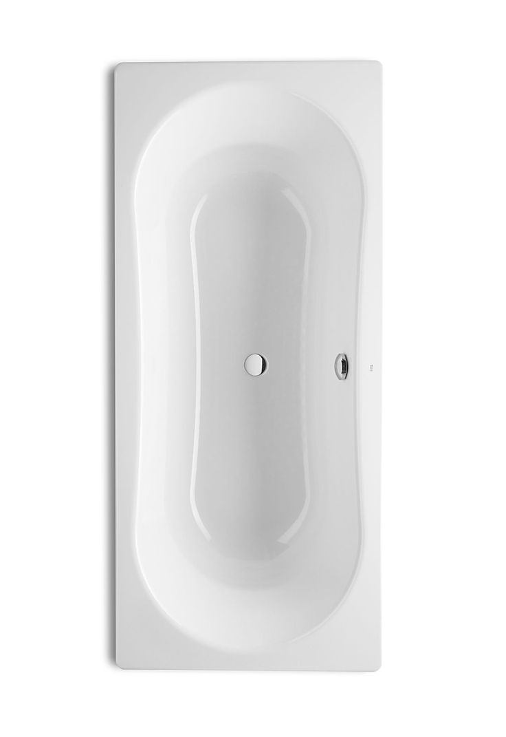 Roca Duo Plus Double Ended Bath 1800 x 800mm With Anti Slip - 221670000