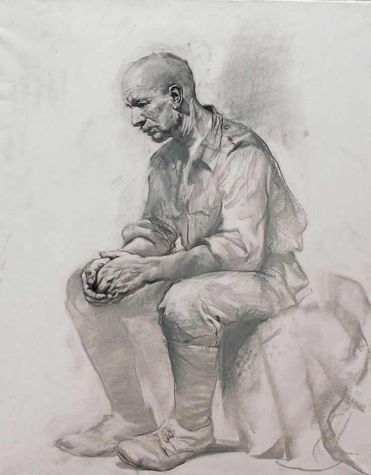 Drawings by russian art students, mostly from the Repin St.Petersburg State Academy Institute of Painting, Sculpture and Architecture