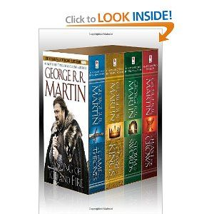 Game of Thrones, reading on my kindle right now!