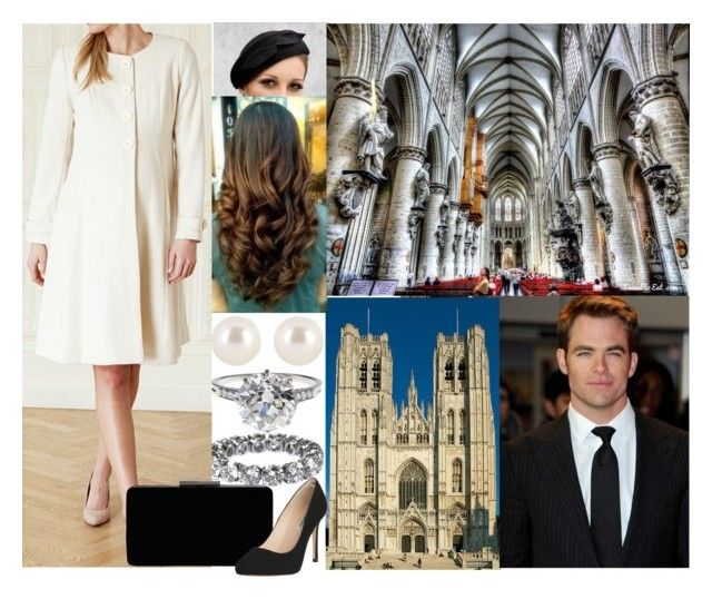 """Attending a Good Friday Mass at the Cathedral of St. Michel and St. Gudula with Theodor"" by hanaofbelgium ❤ liked on Polyvore featuring BEA, Henri Bendel, Boucheron, John Lewis and L.K.Bennett"