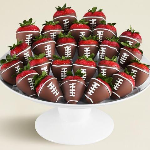 cute football food idea