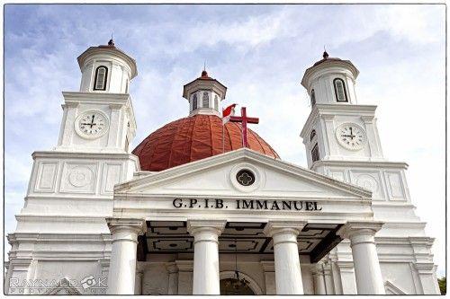 Church Semarang City Indonesia by Raynald Kartawan
