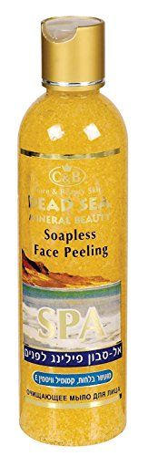 Face Peeling Soapless Soap Dead Sea 250ml84oz Chamomile ** Continue to the product at the image link.