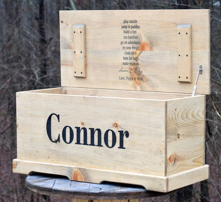 36x16x16 Personalized Toy Box                                                                                                                                                                                 More