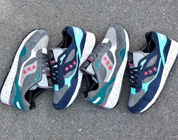 Offspring x Saucony Shadow 6000 Running since 96