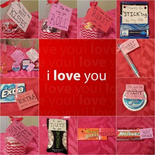 Diy valentine gifts for him. Easy to make and cheap!