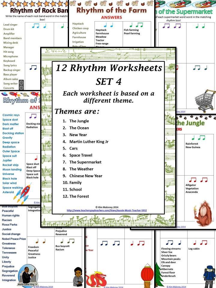 173 best Rhythm Practice images on Pinterest   Music education ...