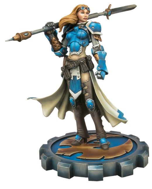 Exclusive Captain Victoria Haley Resin Statue Now Available! | Privateer Press
