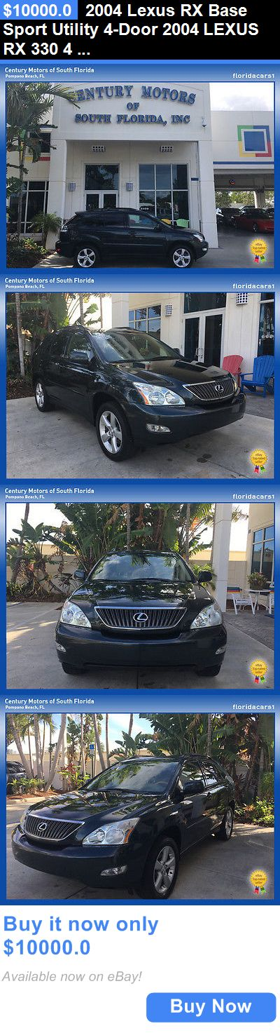 SUVs: 2004 Lexus Rx Base Sport Utility 4-Door 2004 Lexus Rx 330 4 Door Suv Fwd 3.3L V6 Fi 24V BUY IT NOW ONLY: $10000.0