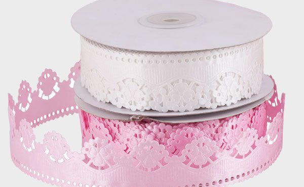 CARDS & WRAPPING: Decorative ribbons by Swann Agencies | present | gift wrapping | valentine's day | pink ribbon | patterned ribbon